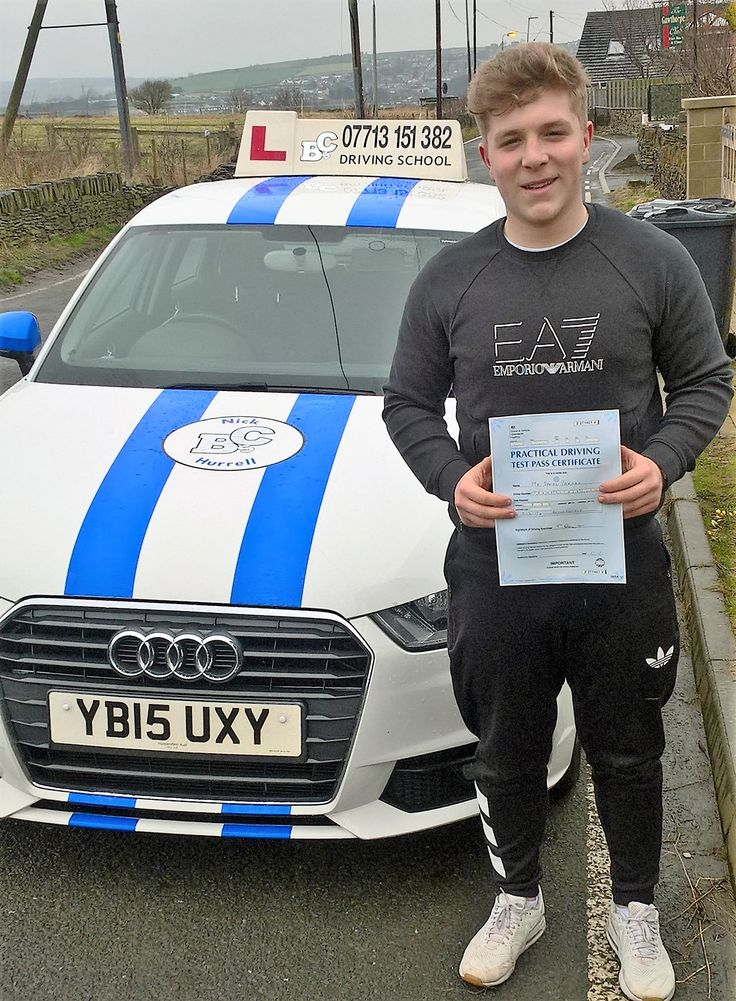 Congratulations to Danny who passed his test at the 1st attempt in Huddersfield. You can look forward to ferrying around your brothers & sister now! Well done from Nick & BC's Driving School. #BCs #DrivingSchool #DrivingTest #DrivingLessons #Huddersfield