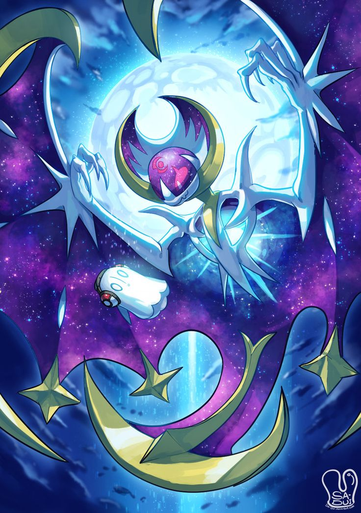 Pokemon x UNDERTALE : Lunaala x Napstablook by Sa-Dui