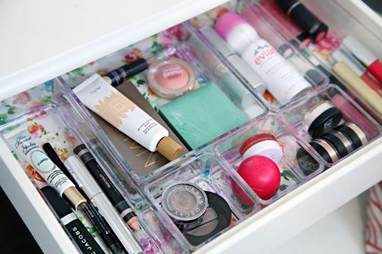 acrylic organizers for #makeupstorage #makeuporganization