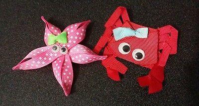 Girls cute hair accessories /hair  clips /alligator clip set