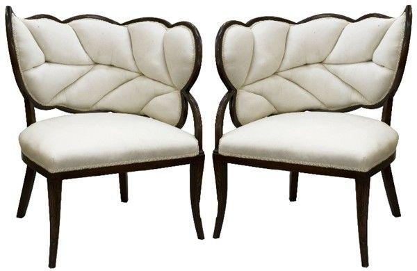 White leaf chairs