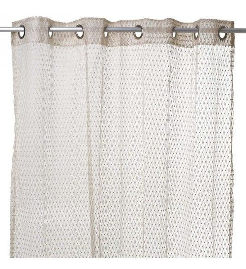 FABRIC CURTAIN  IN GOLDEN COLOR 140X280
