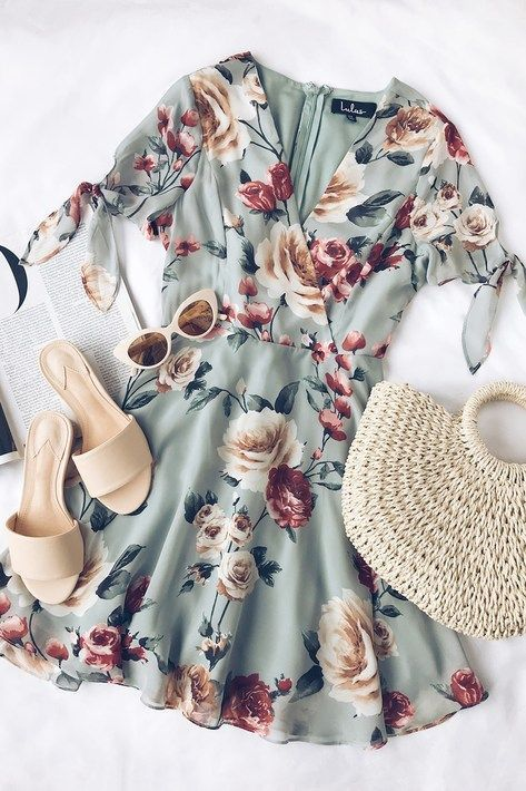 90+ Chic summer Wwomens outfits ideas for charming style summer fashion trendy o…