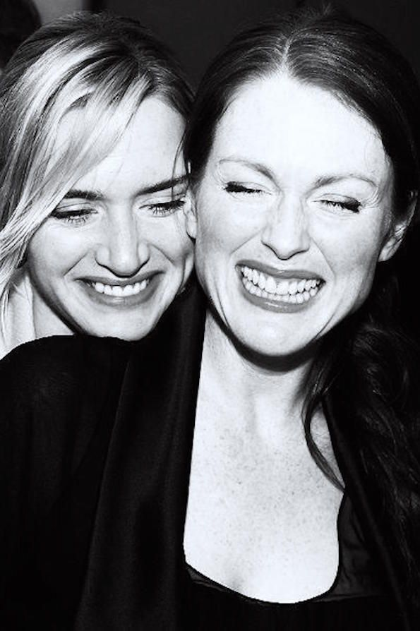 Kate Winslet and Julianne Moore
