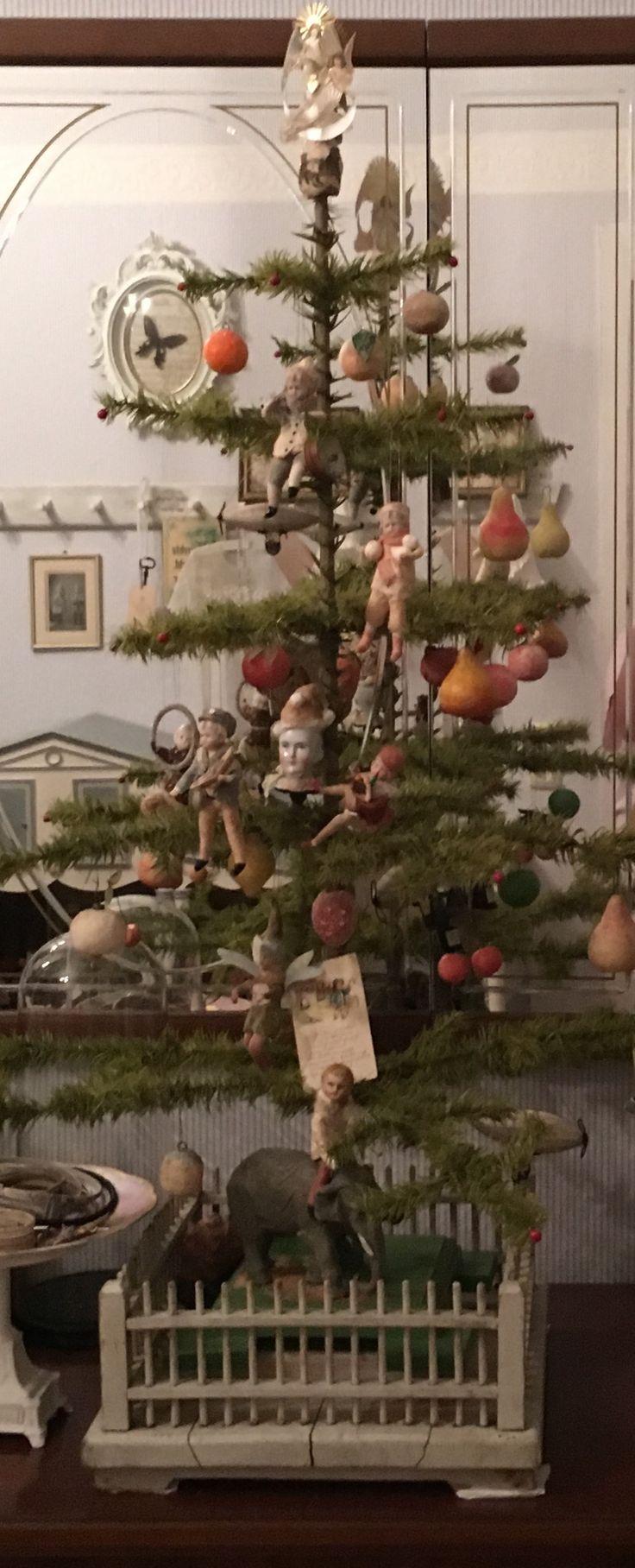 Die besten 25 nostalgische weihnachtsdeko ideen auf for Antike weihnachtsdeko