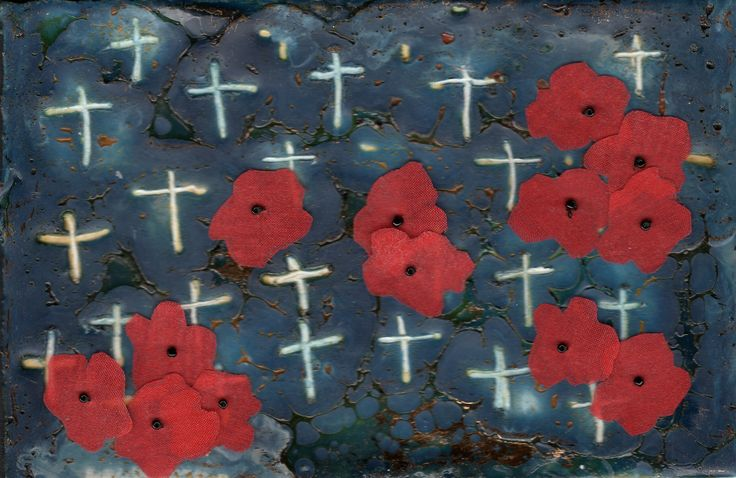 Poppies for our Heros..by Deb Othams