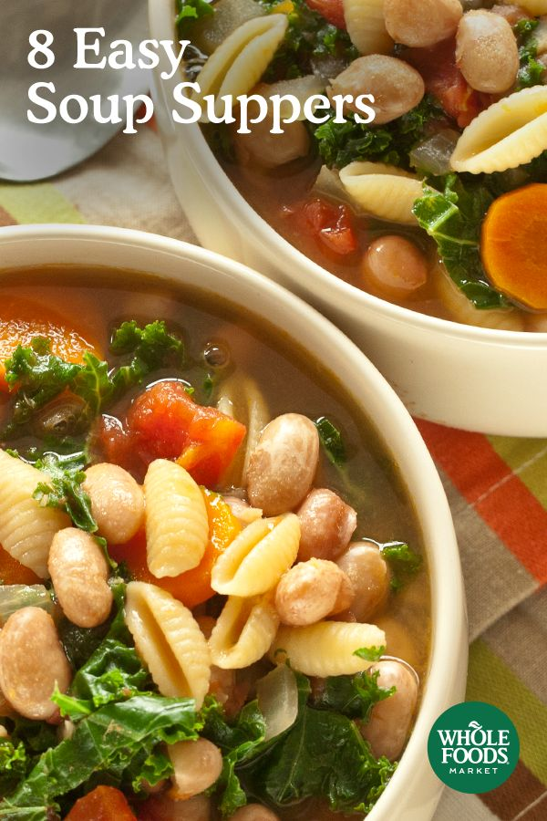 Soup is a one-pot meal that warms the soul and satisfies taste buds. Discover 8 of our favorite soup recipes for a cold winter's night.