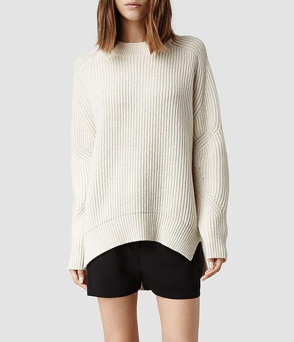 Womens Quinta Sweater (Cinder Marl) | ALLSAINTS.com
