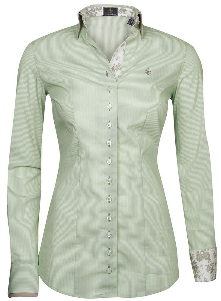 Long Sleeves Ladies Blouse By Fior Da Liso Shirt This Is