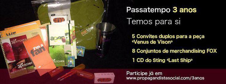 Comemore conosco este terceiro aniversário: www.propagandistasocial.com/3anos