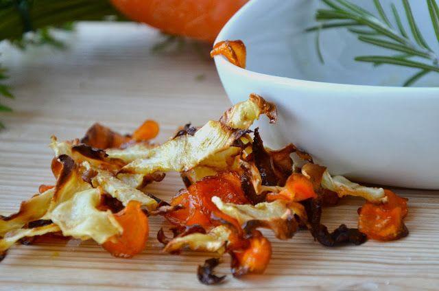 křupavé zeleninové chipsy