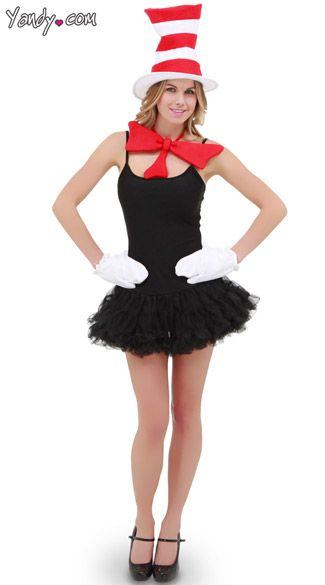 cat in the hat costume to go with thing 1 and thing 2 puppy costumes - Cat In The Hat Halloween Costume Ideas