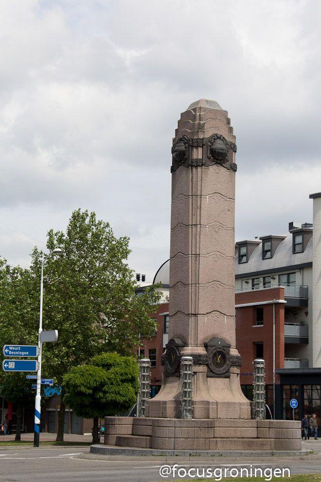 The Quack Monument on the Quack Plaza -  Nijmegen, Nederland.      focusgroningen.nl