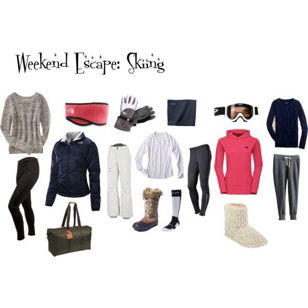 Weekend Trip Ideas: Weekend Getaway: Packing Ski Weekend {the Suitcase}
