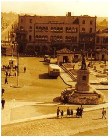 Plaza España en Concepción