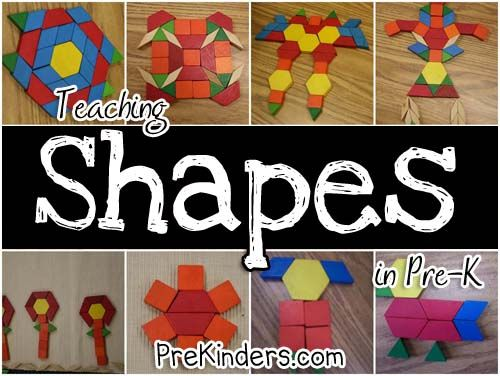 Shapes and Geometry activities.