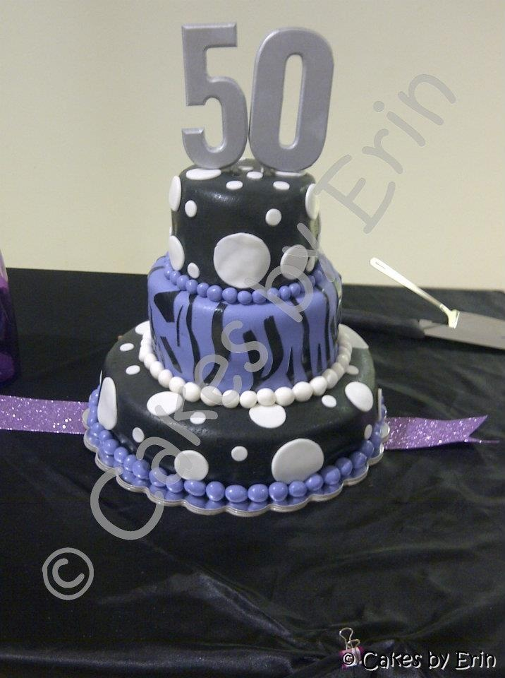 Cake Decorating Classes Dc : 50th Birthday Cake My Cakes, Cupcakes, Cookies and Pies ...
