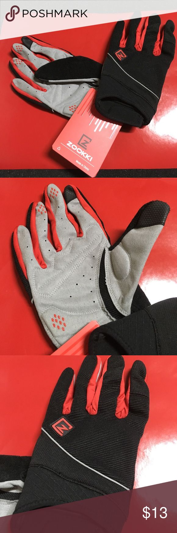 🆕 Zookki Cycling Gloves Better grip, absorbs shock. 💯 Brand Authentic 🖲 Use offer button to negotiate.                          ✅ Bundle for discount Zookki Other