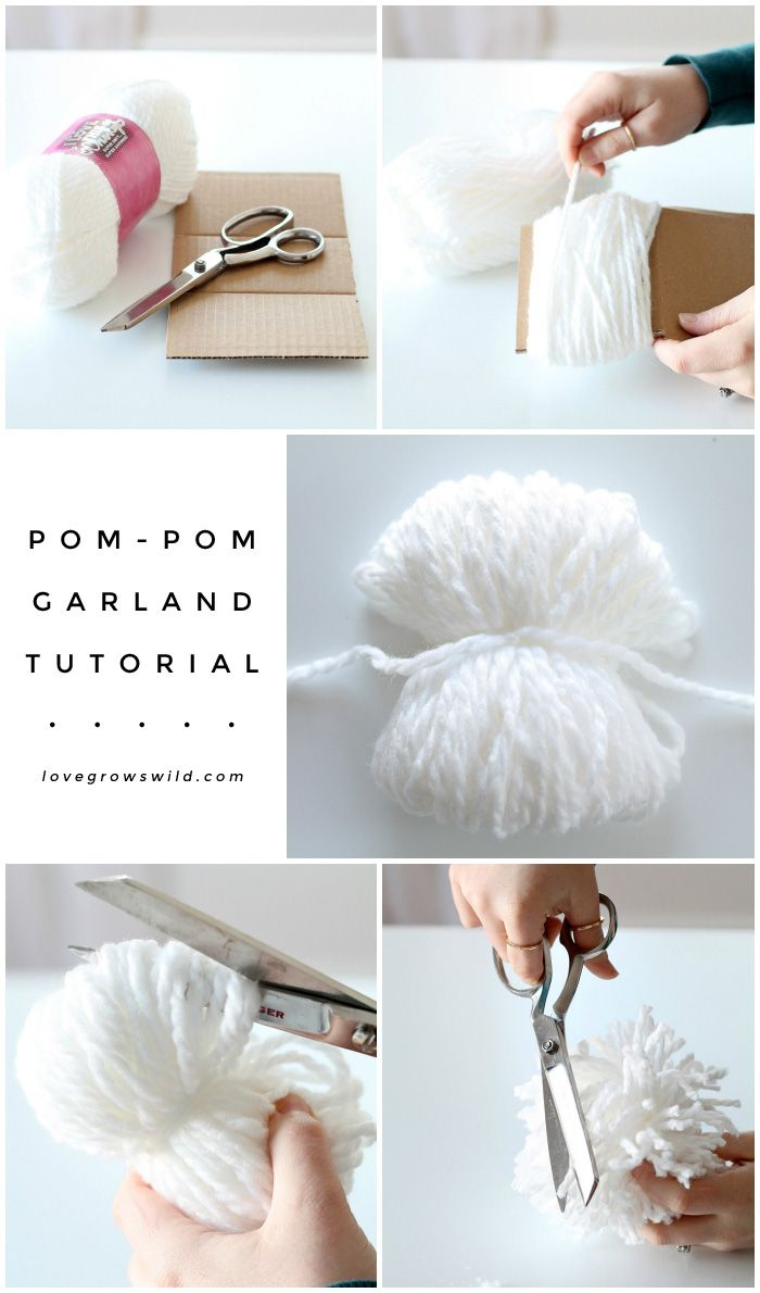 25 best ideas about pom pom garland on pinterest pom pom diy diy garland and bunting. Black Bedroom Furniture Sets. Home Design Ideas