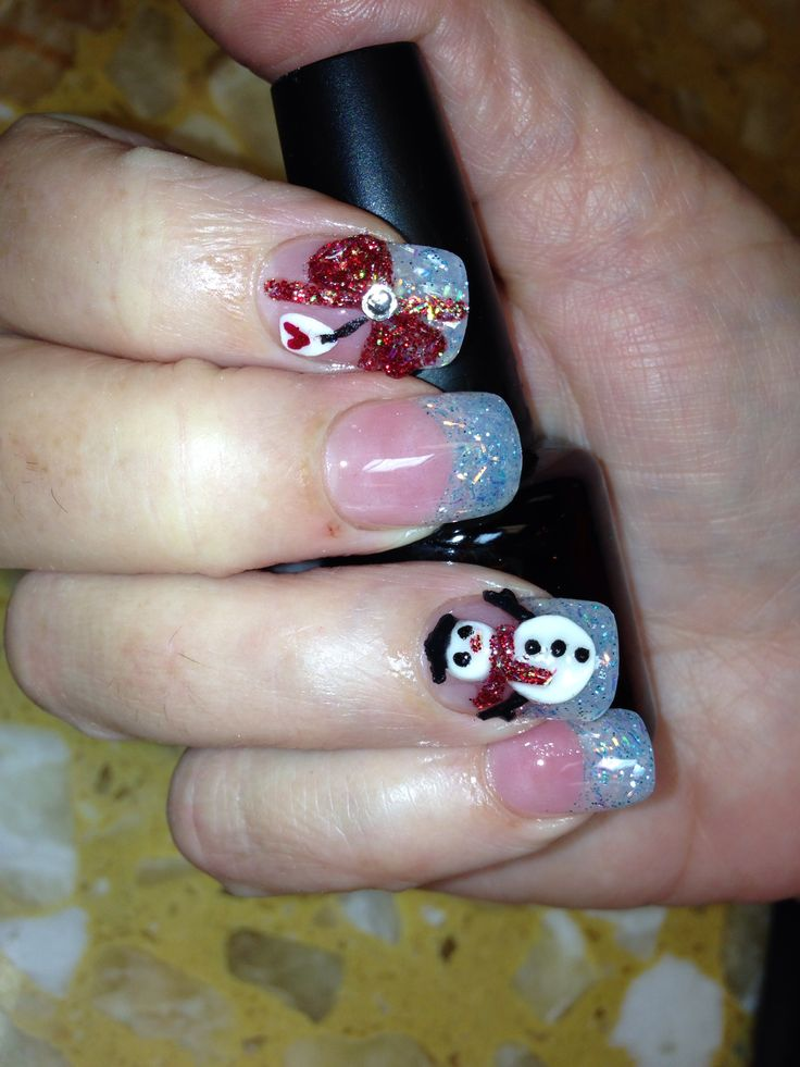 305 best happy nails images on pinterest nail design nail 3d christmas nails art3d snow man3d gift wrap3d bows solar nail designsgift prinsesfo Image collections