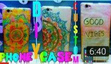 DIY Easy and Cheap Custom Phone Cases  Check this video on (Jojoyana)