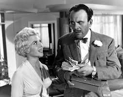 A busty, smiling blonde, with me and my reputation? The ultimate rotter and scoundrel? Bingo. Terry Thomas, in 'Too Many Crooks'.