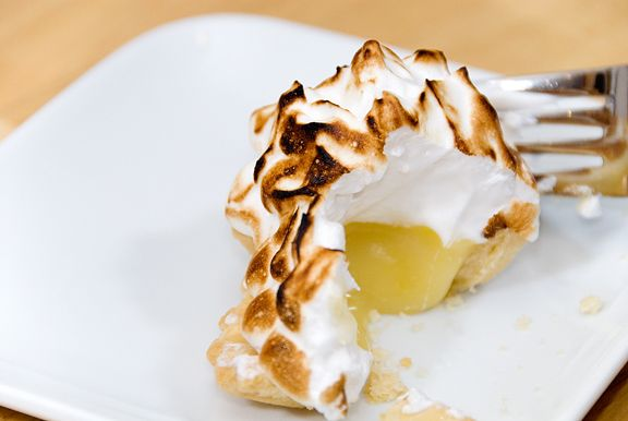 lemon meringue tartelettes recipe | use real butter