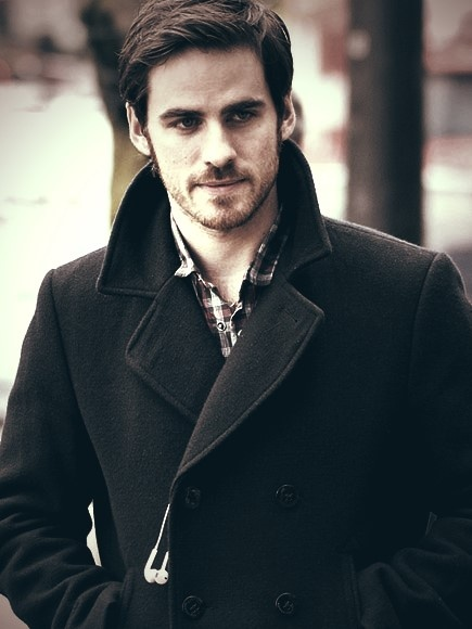 colin o'donoghue -Hook from Once Upon a time!!