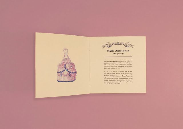 Marie Antoinette Welcome Kit (Student Project) on Packaging of the World - Creative Package Design Gallery