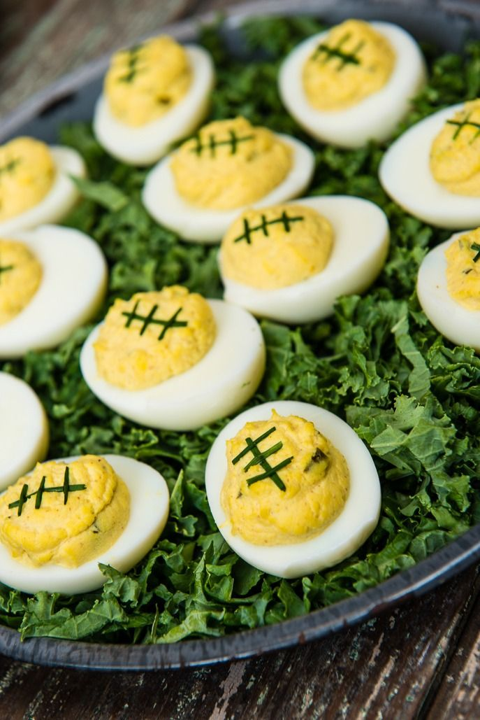 10 Football-Shaped Foods For Your Super Bowl Party