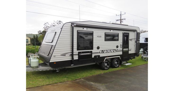 NEW - RIVER CARAVAN Including Full Ensuite, DCS, Battery System with 150W Solar Panel, Leather upholstery, Large Fridge, Air Conditioner, Queen bed and more....   SPECIAL PRICE  $60,700 (RETAIL PRICE $67,020) CARAVAN COURT   #R5