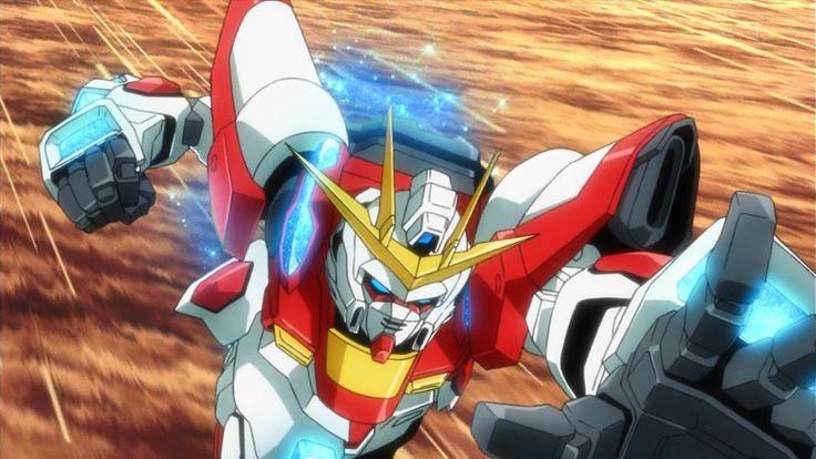 GUNDAM GUY: Gundam Build Fighters Try: Episode 2 'Team Up, Try Fighters' [結成!トライ・ファイターズ] - Video & Screenshots