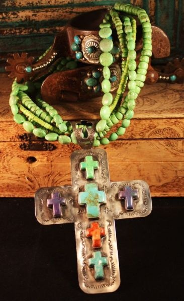Another gorgeous Rocki Gorman cross necklace!