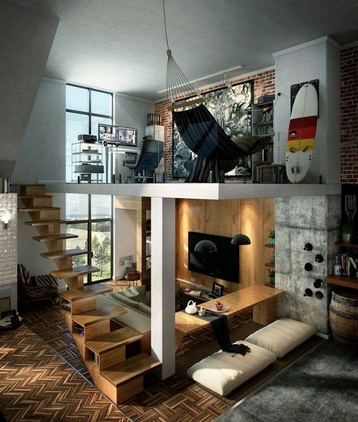 Loft design is one of the best