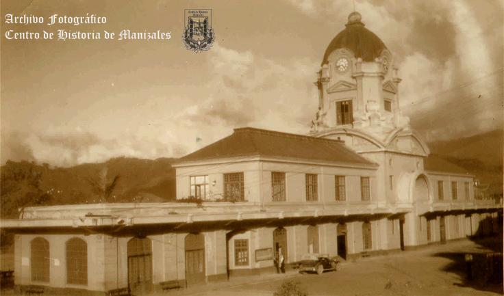 Estación del Ferrocarril, 1935.