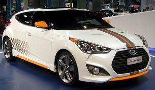 The Hyundai Veloster is a compact sports car set to activate sales in the Summer of 2011. It was app...