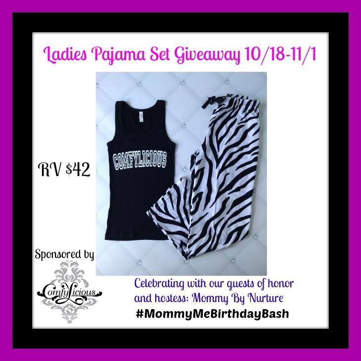 Ladies Pajama Set #Giveaway Ends 11/1 - Michigan Saving and More