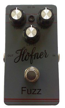 Hofner Tremolo Pedal Classic Tremolo - Rate, Wave, Depth by Hofner. $66.00. This pedal offers everything you would expect from a contemporary boutique design: a rigid die-cast metal box, low-noise operation, silent switching and low battery consumption.
