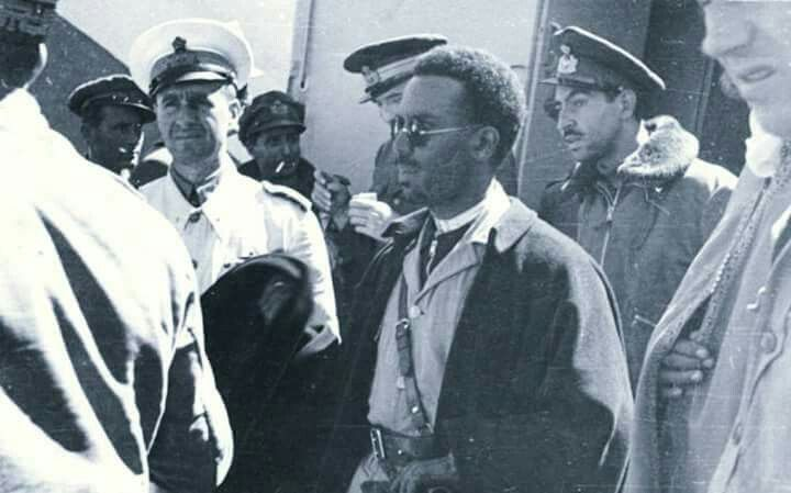 Ras Imru at the time of his capture by the Italians | Ethiopia | Ethiopia, Vintage hollywood, History