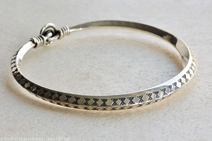 A personal favorite from my Etsy shop https://www.etsy.com/listing/277554010/stamped-viking-bracelet-from-gotland