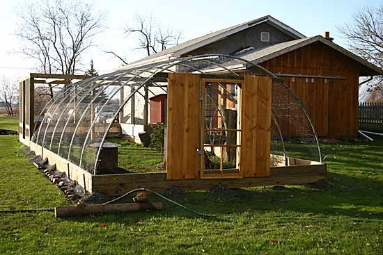 Aviary out of a hoop house frame.Future Farms, Birds Cages, Games Birds, Frames Aviary, Farms Animal, Cold Frames, Birds House, Greenhouses Territories, Amazing Photos
