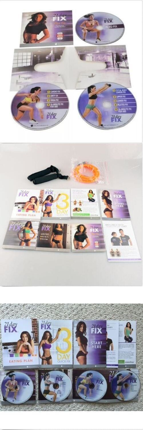 Fitness DVDs 109130: New Hot 21 Day Fix 4Dvd Essential Package By Beachbody And Free Shipping! -> BUY IT NOW ONLY: $33.08 on eBay!