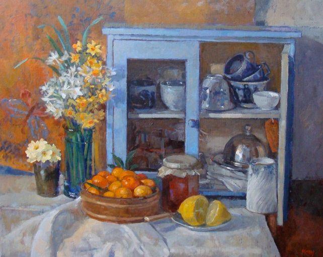 + Still Life with Blue Cupboard (642x510, 377Kb)