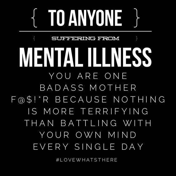 PSA to all the #mentalhealthwarriors out there!! ✊✊✊✊✊✊ | Mental Health | Mental Health Awareness | Mental Illness | Mental Illness Feels Like | Invisible Illness | Illness Not Weakness | Break the Stigma | Depression | Anxiety | PTSD | BPD | ADHD | OCD | MDD | Panic Attack | BP | ED | Manic Depressive Disorder | MBD | PNES | Schizophrenia | Adulting | Black and White | #PanicAttackFacts