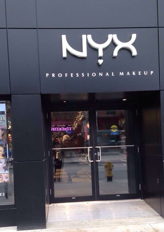 New #NYX Store in Toronto @nyxcosmetics