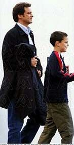 Colin and son Will