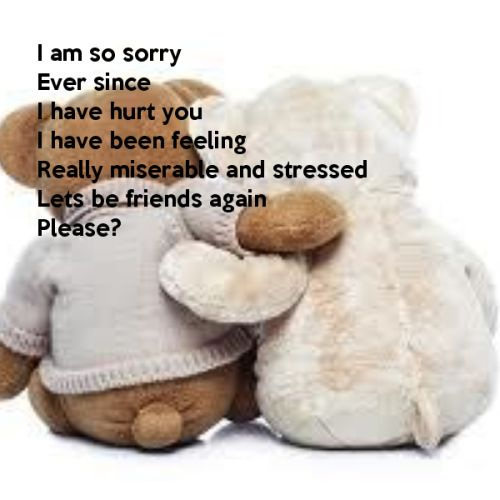 Sorry Quotes For My Friends : Best sorry friend quotes on im love