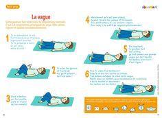 Yoga enfant Pomme d'Api vague relaxation Posture bébé