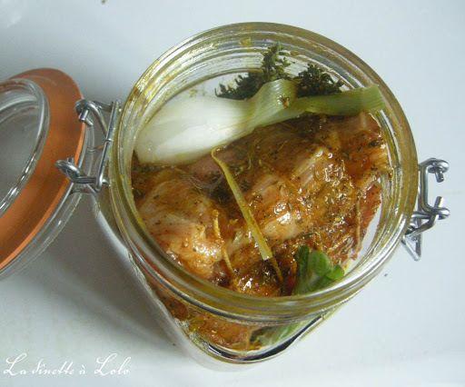 Rôti de porc confit en bocal. Un pur délice à la viande fondante et parfumée.
