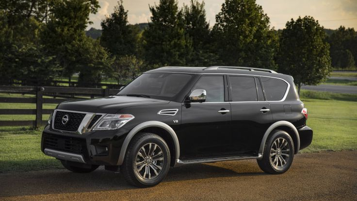 2018 Nissan Armada gets trick rear-view mirror and modest price bump